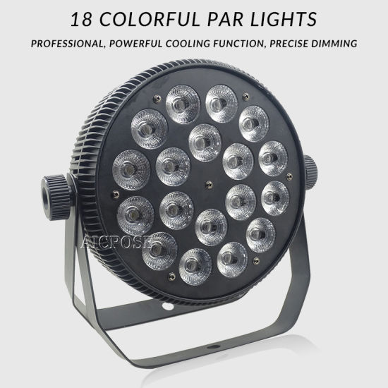 18X18W 6in1 Aluminum Show Party Stage Effect Light