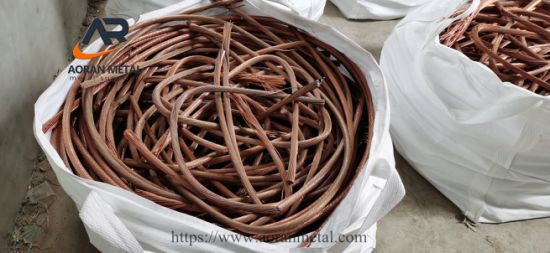 Good Quality Factory Supply Scrap Copper Wire 99.99%
