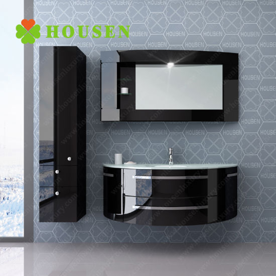 China Contemporary Unique Wall Mounted Mirrored Bathroom