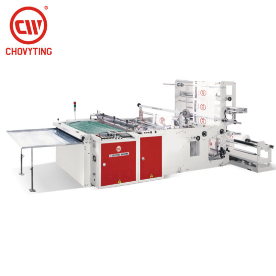 CW-800SBD Taiwan Quality Plastic LDPE PP BOPP Side Sealing Bread Bag Making Machine Price for Sale