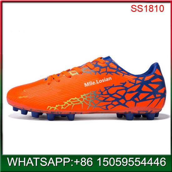 2019 New Design Custom Soccer Shoes for Man Factory