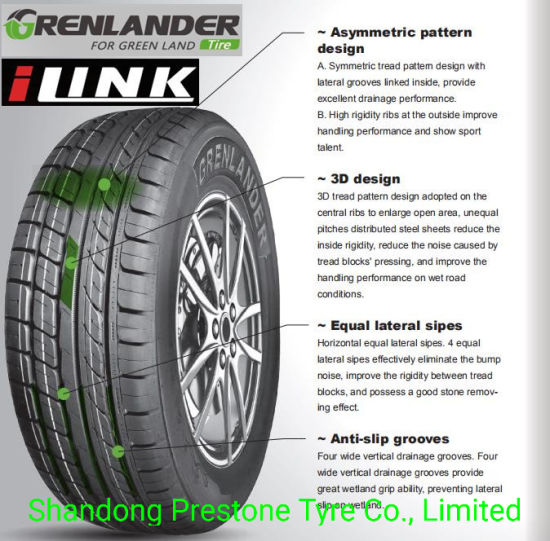 Uhp Grenlander Ilink Brand Car Tyres Pcr L Sport26 195 5515 225 55zr16 215 55zr16 205 55zr16 205 50zr16 China 185r14c Tyre 195 70r14 Tire Made In China Com