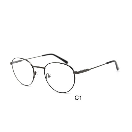 New Arrival Optical Glasses Round Vintage Retro Metal Frames