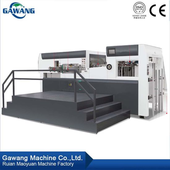 High Cost-Effective Rotary Corrugated Paperboard Die Cutting Machine and Creasing Machine for Making Carton
