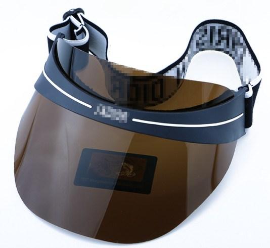 Outdoor Sports Golf Baseball UV 400 Protection Unti Scratch Waterproof Polarized Mirror Sun Visor Cap