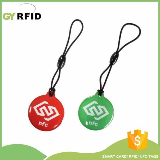 RFID Keychain Proximity Key Fob for Clocking System (KEE30) pictures & photos