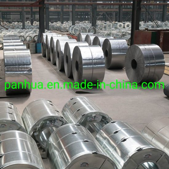 SPCC Dx51 Zinc Cold Rolled/Hot Dipped Galvanized Steel Coil