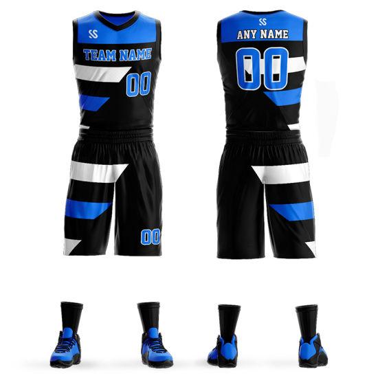 China Full Sublimation Custom Basketball Jersey Uniform Design For Men China Jerseys And Basketball Jerseys Sets Price