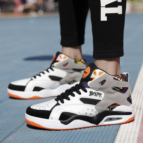 8bdd7a320 High Top Men s Sports Shoes Basketball