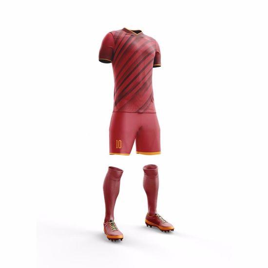 meet 8a7de e0e0d Whoesale Custom Sublimation Print Football Kit Soccer Jersey