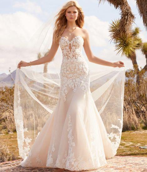 China Mermaid Wedding Gowns Lace Sweetheart Bridal Wedding Dresses