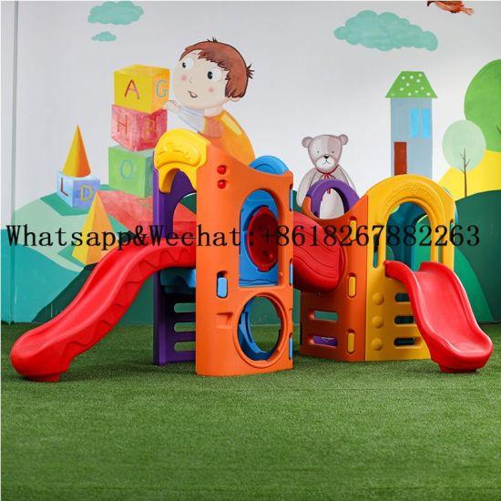 High Quality Plastic Playground Slides Outdoor Intelligent Educational Children Kids Tube Slide
