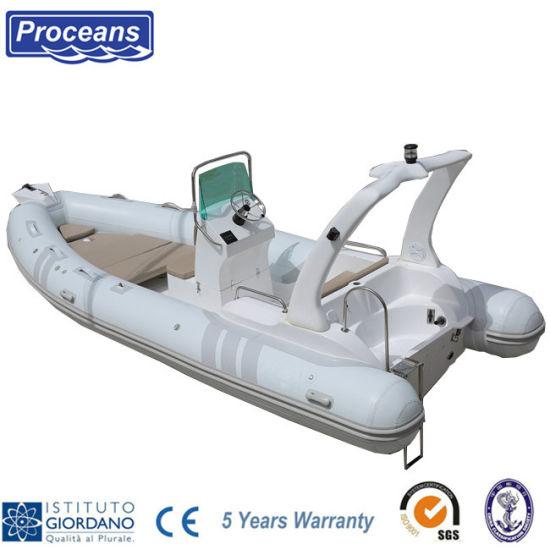5.8m/19feet PVC/Hypalon Rib Boat/Power Boat/Motor Boat/Speed Boat/Fishing Boat