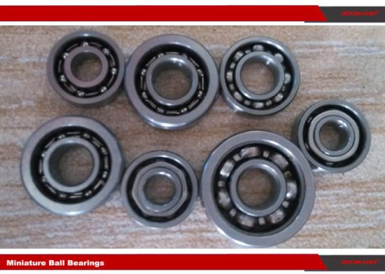 """Inox Miniature Ball Bearings with Dimensions of 0.25""""X0.75""""X0.2188"""" Stainless Steel Ball Bearings Sr4a"""