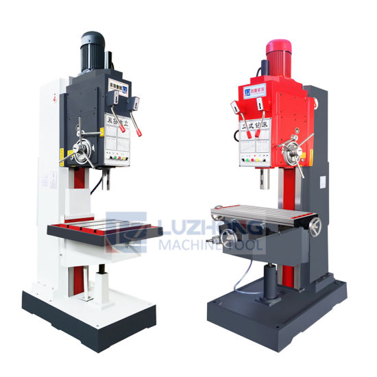 High Quality Z5150B Z5150B-1 Square Column Vertical Drilling Machine pictures & photos