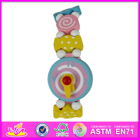 2014 New Wooden Toy Watch, The Most Popular Wooden Kids Toy Watch, Fashion Toy Watch, High Quality Wooden Toy Watch W08k020