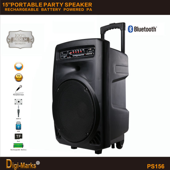 Guangzhou Manufacturer Cheap Multi-Functional Bluetooth Stereo Battery Active Portable Speaker pictures & photos