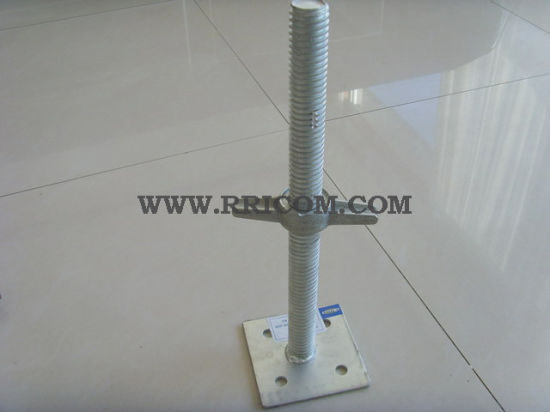 Hot DIP Galvanized Base Jack for Scaffold Props pictures & photos