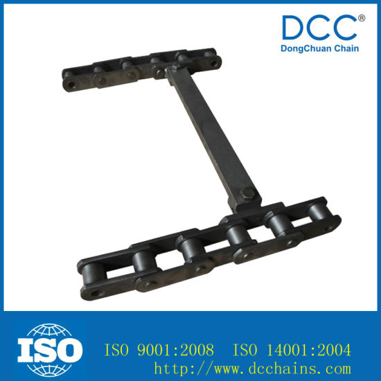 Drag Drive Conveyor Paver Transmission Chain with ISO pictures & photos