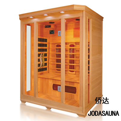 3 Person Healthy Far Infrared Deluxe Sauna Room