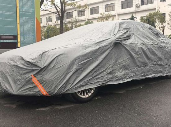 Easy Car Cover Whole Body Car Cover Easy Fold Hot Sale 100% Water Proof PVC Material Cheap Price All Weather Protection pictures & photos