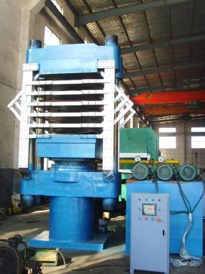 EVA Sheet Making Machine & EVA Vulcanizing Press