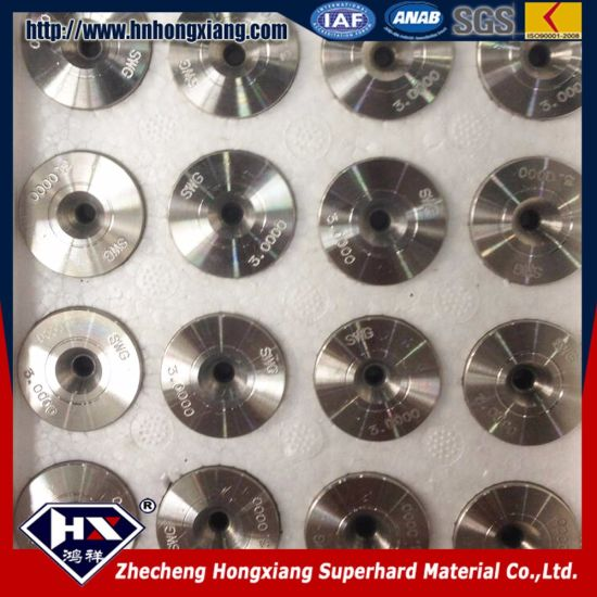PCD Diamond Compact Wire Drawing Die pictures & photos