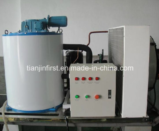 Commercial Rance Snow Flake Ice Machine 1t/24h for China pictures & photos