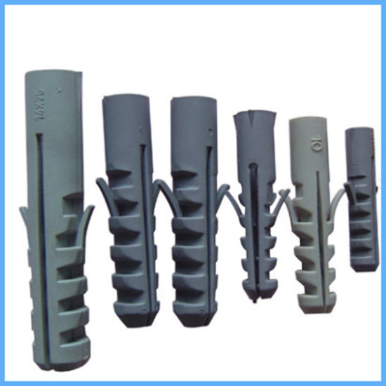 China Pe Nylon Plastic Expansion Anchors Wall Plugs In