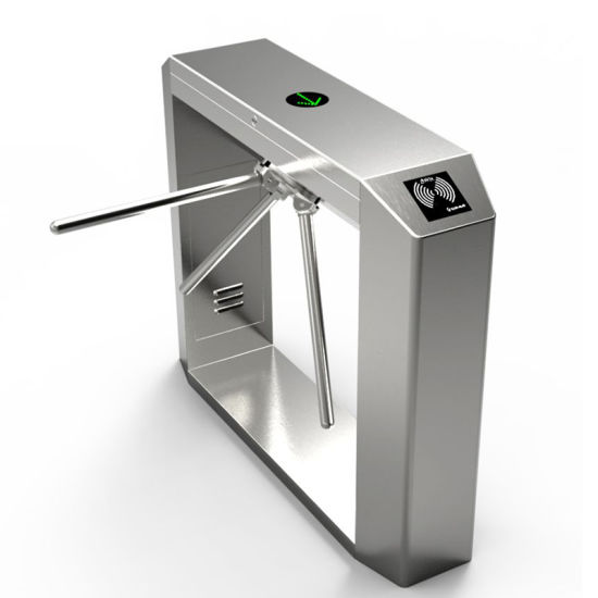 Automatic Pedestrian Access Control Entrance Time Attendance Security Turnstile Barrier Gate