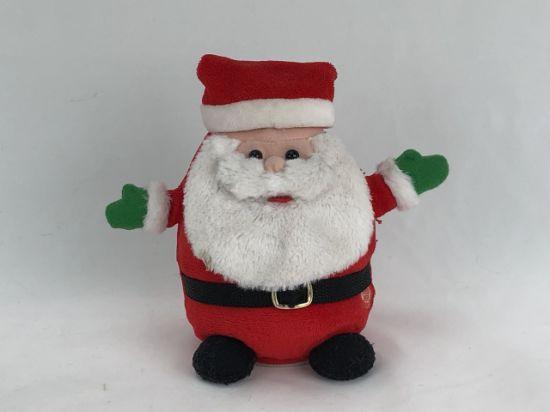 Christmas Santa Claus Electric Toy Halloween Stuffed