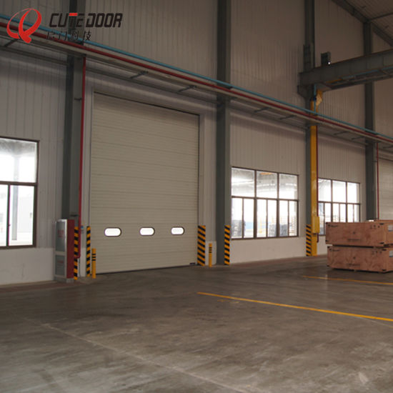 steel sliding garage doors. Full Vision Color Steel Panel Industrial Sectional Sliding Garage Doors