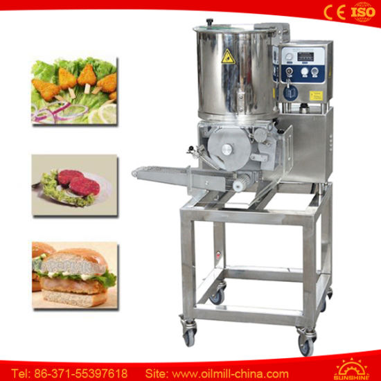 China Commercial Automatic Hamburger Patty Maker Burger