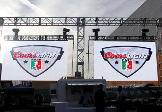 Made in China LED TV 500*500mm P4.81 Outdoor Rental LED Screen LED Tvs