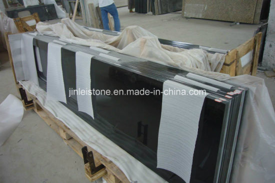 Factory Price High Quality Polished Absolutely Black Granite for Countertops