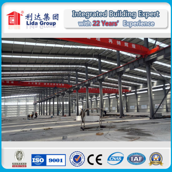 Industrial Steel Structure Storage Shed Design Drawing pictures & photos