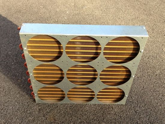 Industrial Computer Heat Exchanger HVAC Coils