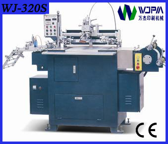 Automatic Slick Screen Printing Machine (WJ-320S) pictures & photos