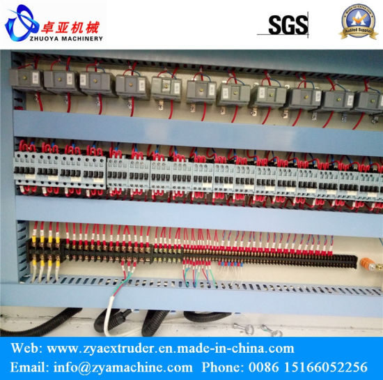 WPC Pergola/Pillar/Decking/Flooring/Wall Covering Profile Extruder Machine pictures & photos