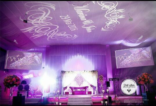 LED Gobo Projector Lighting for Weddings pictures & photos