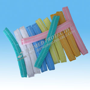 Disposable Nonwoven Clip Cap or Mob Cap pictures & photos