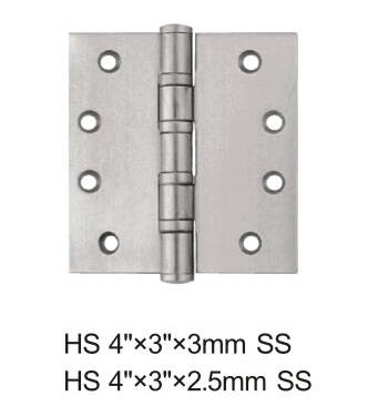 Security Stud Stainless Steel Ball Bearing Door Hinge (4*3*3-4BB SS) pictures & photos