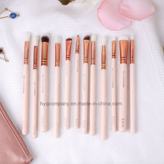 Zoeva Makeup Tool 12PCS /Set Make-up Brush Set Pink Color Brush pictures & photos