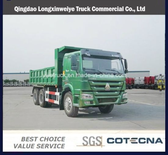 Sinotruck HOWO Dumper Truck 6X4 Capacity 18cbm
