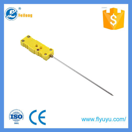 Sharp Needle Probe K-Type Thermocouple Meat Probe for BBQ Food