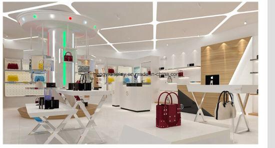 f22c28db59c Custom Retail Store Lady Bag Display Cabinet, Handbag Store Design and  Decoration, Wholesale