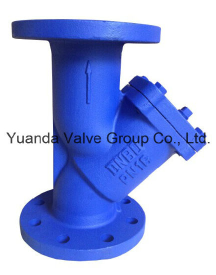 DIN GG25 gland type cast iron globe valves pn16 flange end pictures & photos