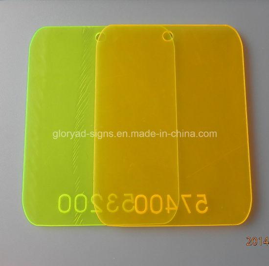 China Plastic Fluorescent Pmma Casting Acrylic Sheet China Acrylic Sheet Plastic Products