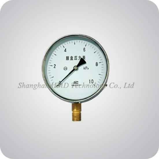 Liquid Filled Capsule Pressure Gauge (A+E-810YE)