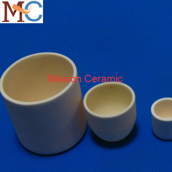 High Temperature Alumina Ceramic Crucible pictures & photos